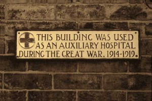 Plaque that used to be on Mill House. It disappeared some time ago
