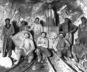 Simmer Deep Gold Mine, Germiston, Transvaal, 1914