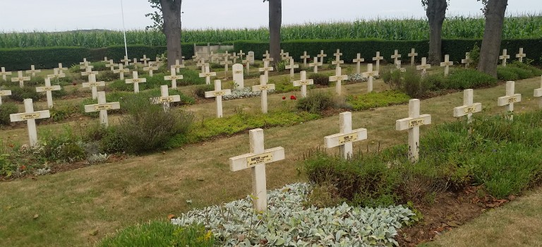 Czech Cemetery near Arras