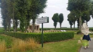 Czech cemetery - signpost