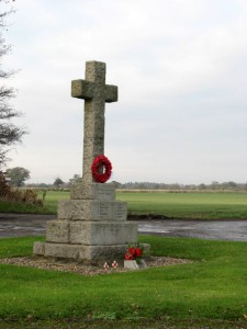 War memorial, Scottow, Norfolk