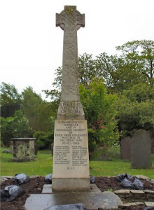 Frampton Cotterell War Memorial, Gloucestershire