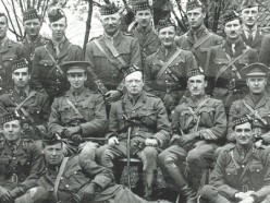 Churchill with the Royal Scots Fusiliers at Ploegsteert. 1916