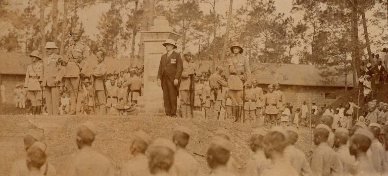 North East India and the First World War