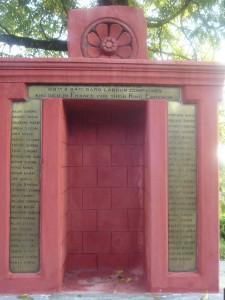 The Cenotaph in Tura which commemorates the 69th Garo Labour Corps