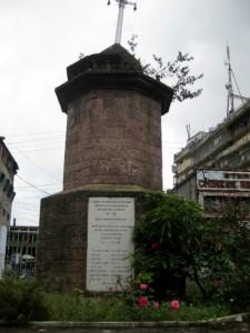 War Memorial at Shillong