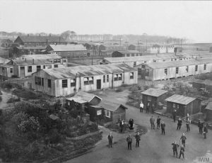 Lofthouse Park Camp during World War One (© IWM Q56595)
