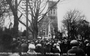 Radcliffe onTrent War Memorial (1921)