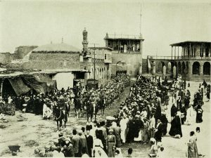 British Indian Army entering Baghdad with Gen Maude 1917