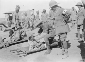 Ottoman wounded after Tikrit 1917 (IWM Q24439)